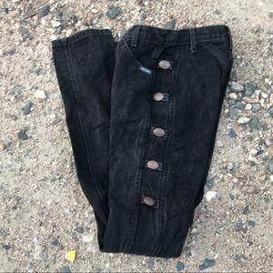 Vintage Rockies Concho Black Denim Jeans